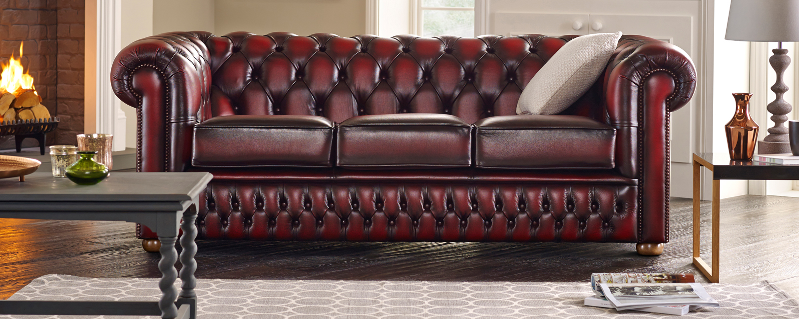 Nice Museum Quality Antique Chesterfield Style Leather Handmade Wingback Armchair Special Buy Sofas, Armchairs & Suites