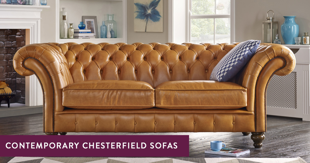 Contemporary Chesterfield Sofas – Handmade in the UK | Sofas ...