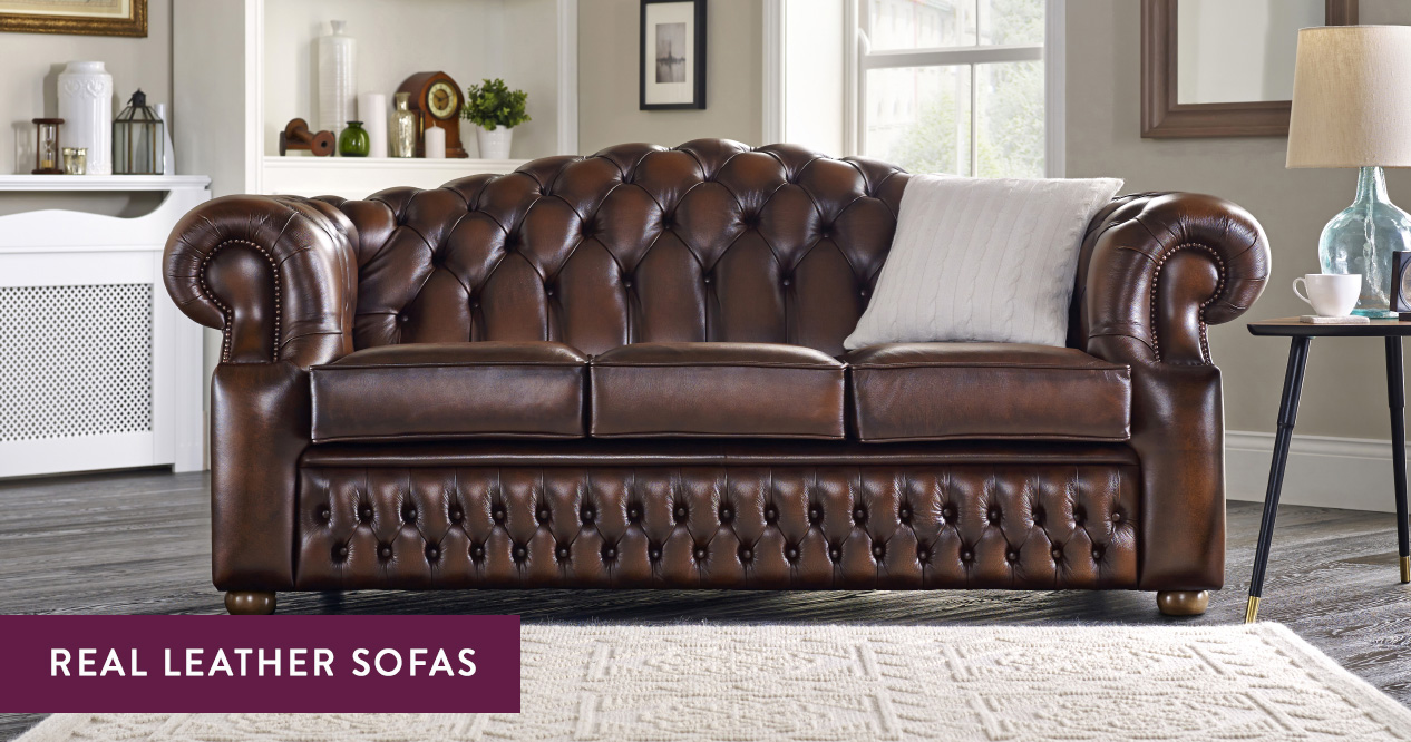 Picture of: Real Leather Sofas Handmade In The Uk Sofas By Saxon