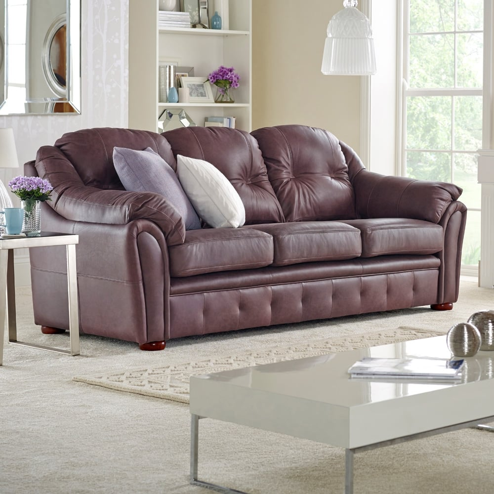 ashford 3 seater sofa from sofas by saxon uk. Black Bedroom Furniture Sets. Home Design Ideas