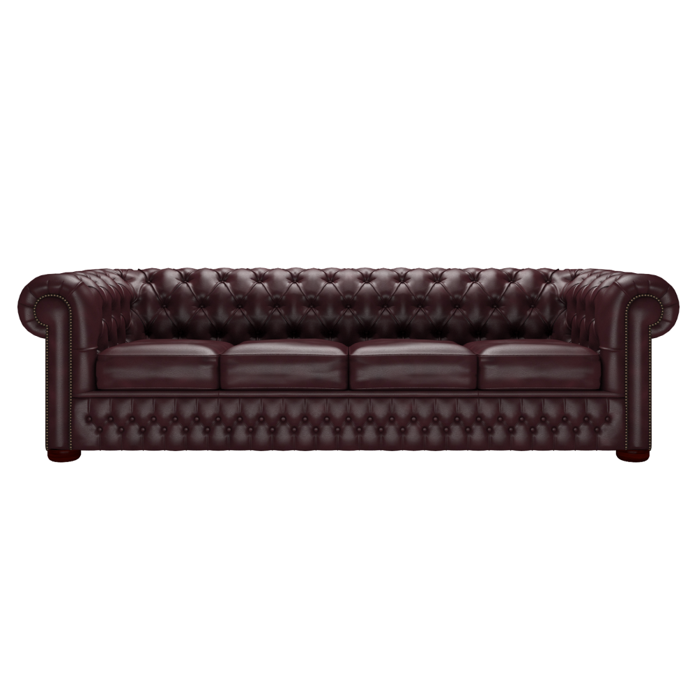 Chesterfield Sofa Saxon: Chesterfield 4 Seater Sofa In Sauvage Madeira