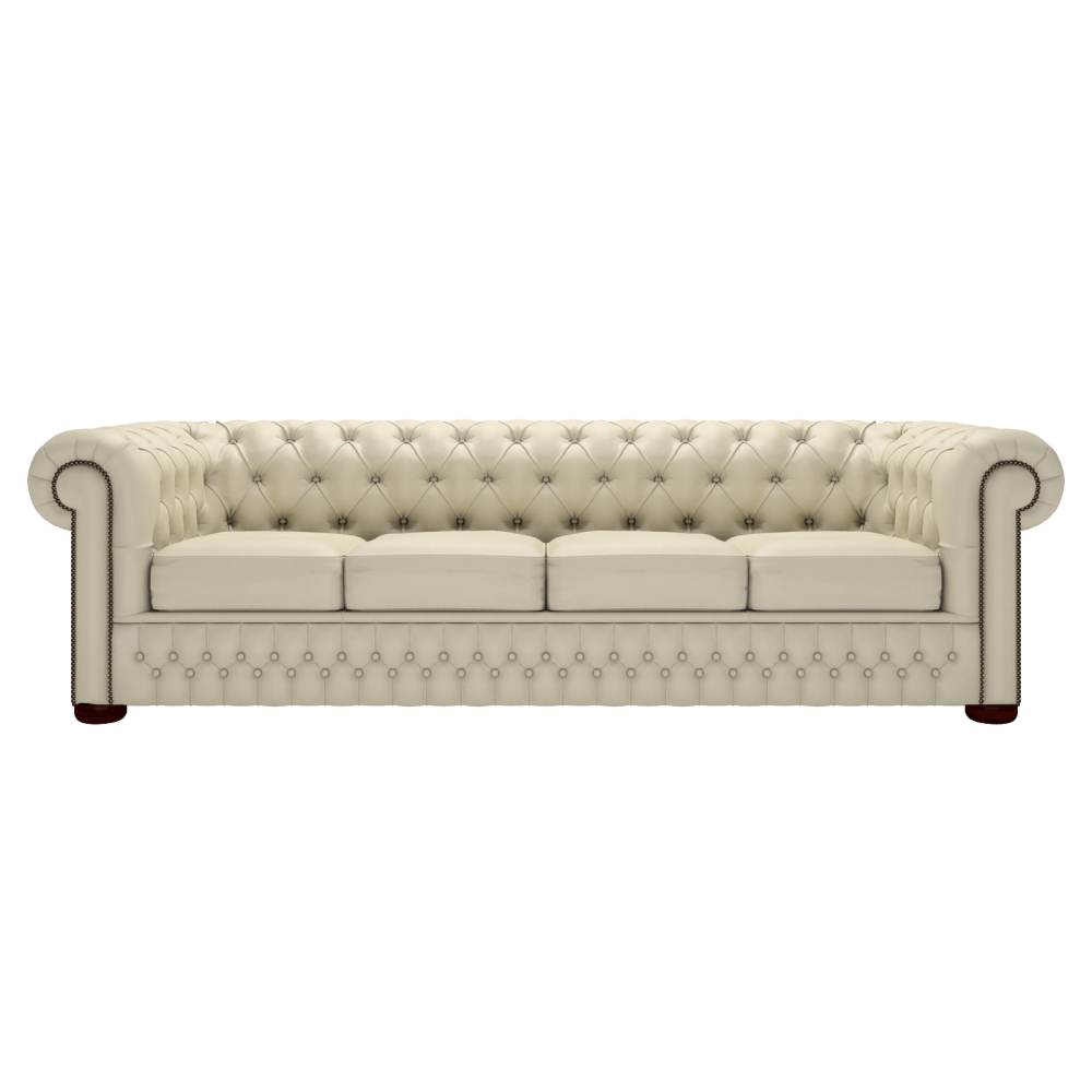 Buy a 4 seater chesterfield sofa at sofas by saxon for Couch chesterfield