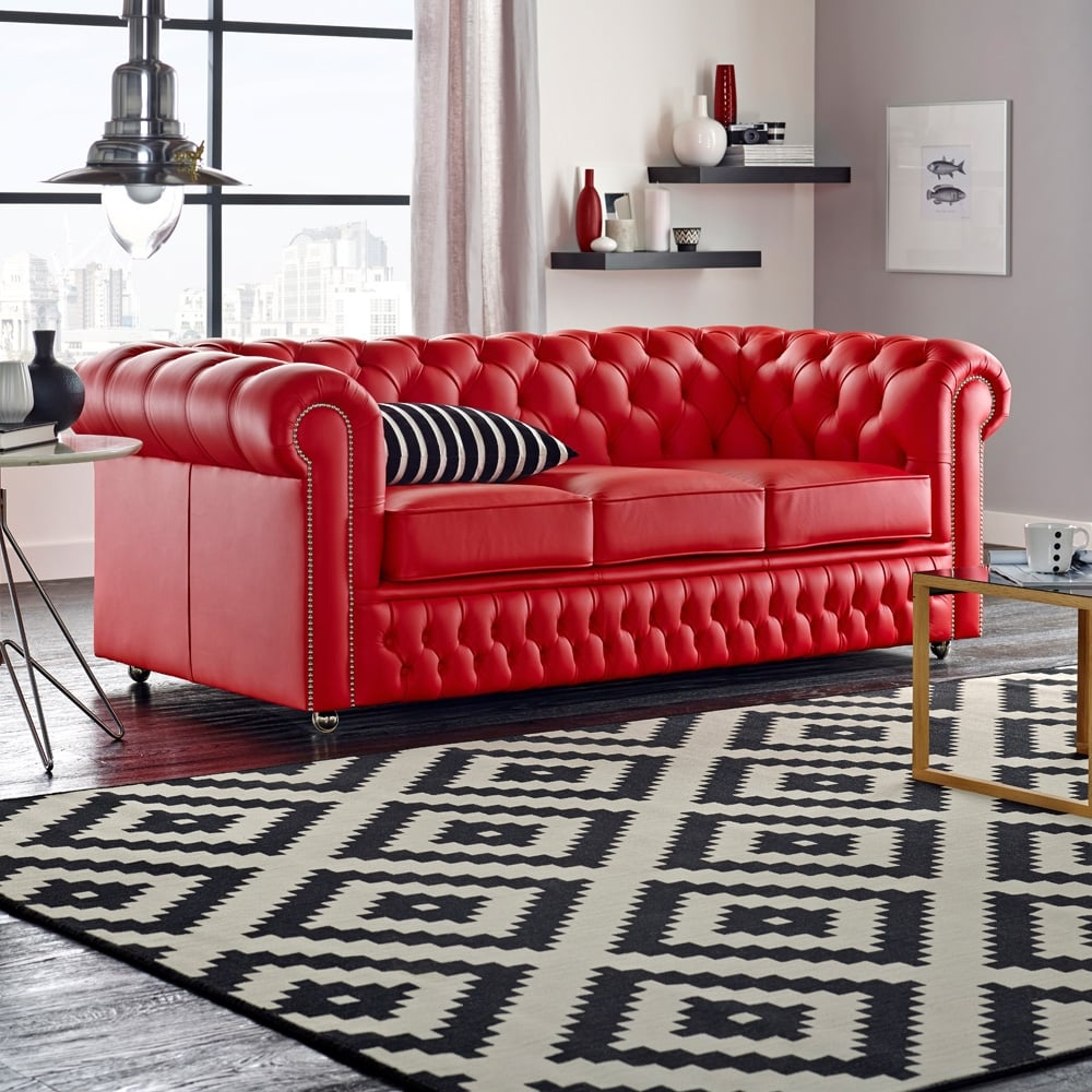 Sofa Chesterfield buy a 4 seater chesterfield sofa at sofas by saxon