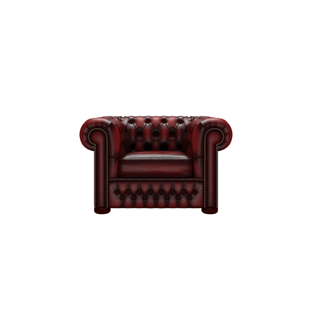 Chesterfield Sofa Saxon: Chesterfield Chair In Antique Red