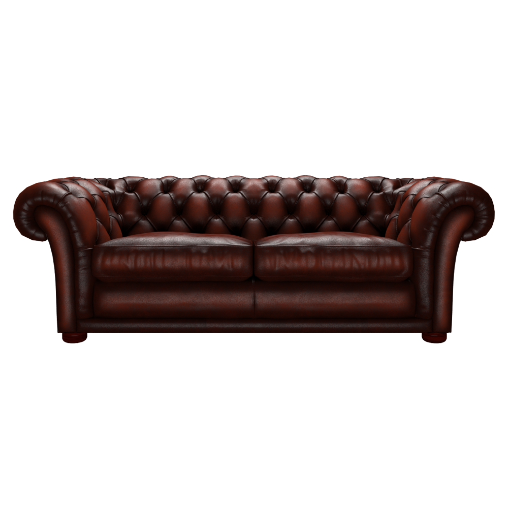 Churchill 3 Seater Sofa in Antique Chestnut from Sofas