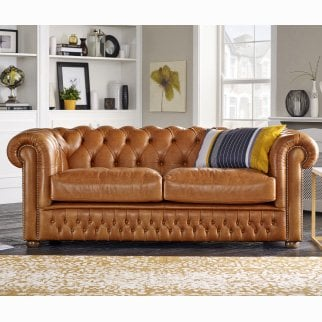 Sofas Leather Fabric Sofas By Saxon - Derby-chesterfield-sofa