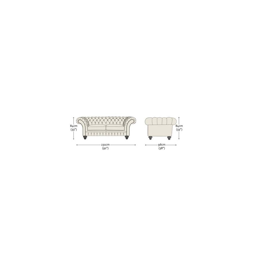 ... Grosvenor 3 Seater Sofa In Wool   Herringbone Paprika