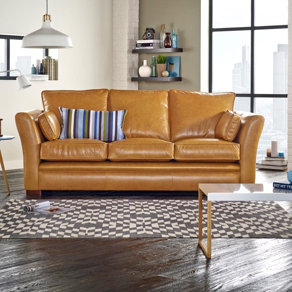 kensington 3 seater sofa from sofas by saxon uk. Black Bedroom Furniture Sets. Home Design Ideas