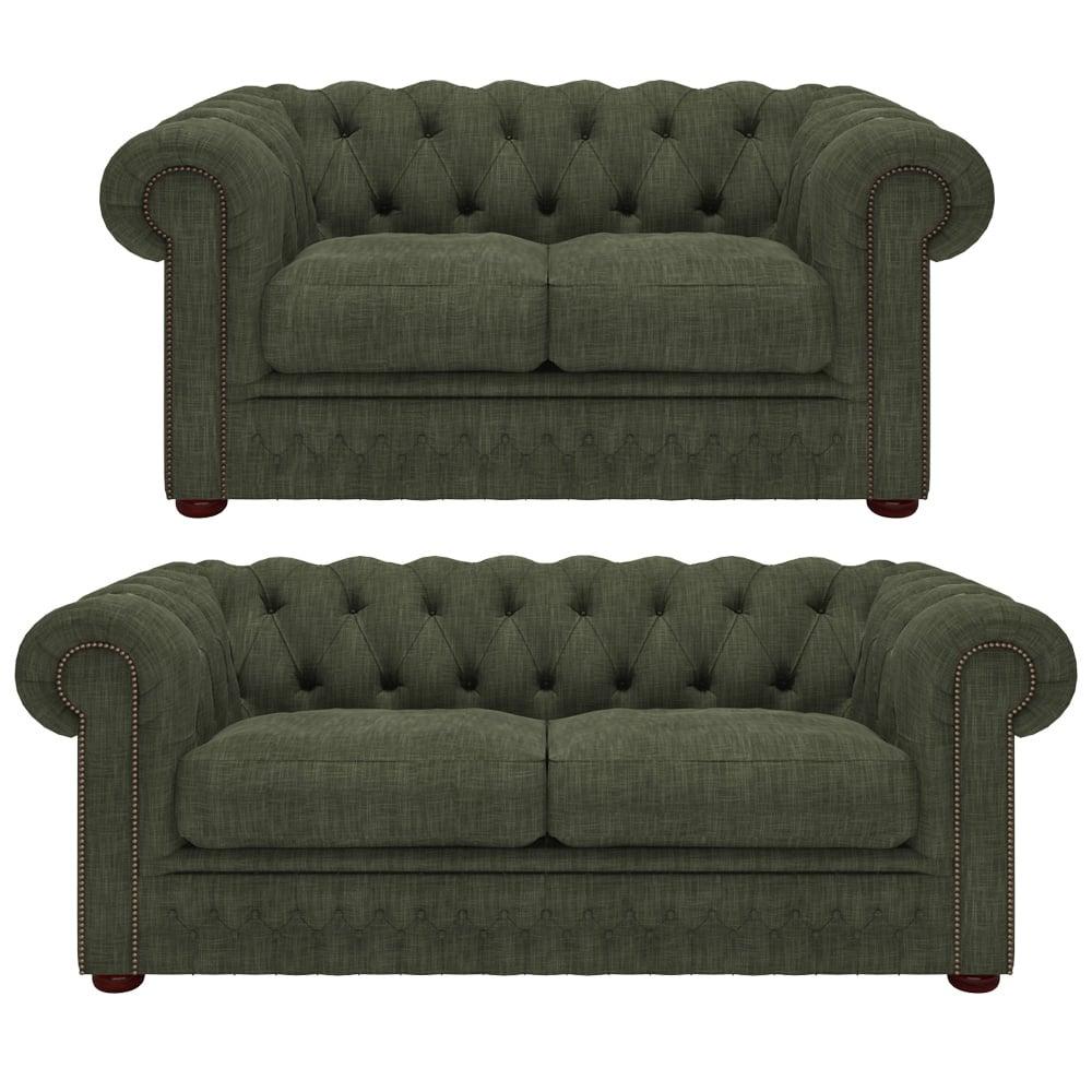 Knightsbridge 2 and 3 seater sofa in bespoke fabric for Sofa bespoke