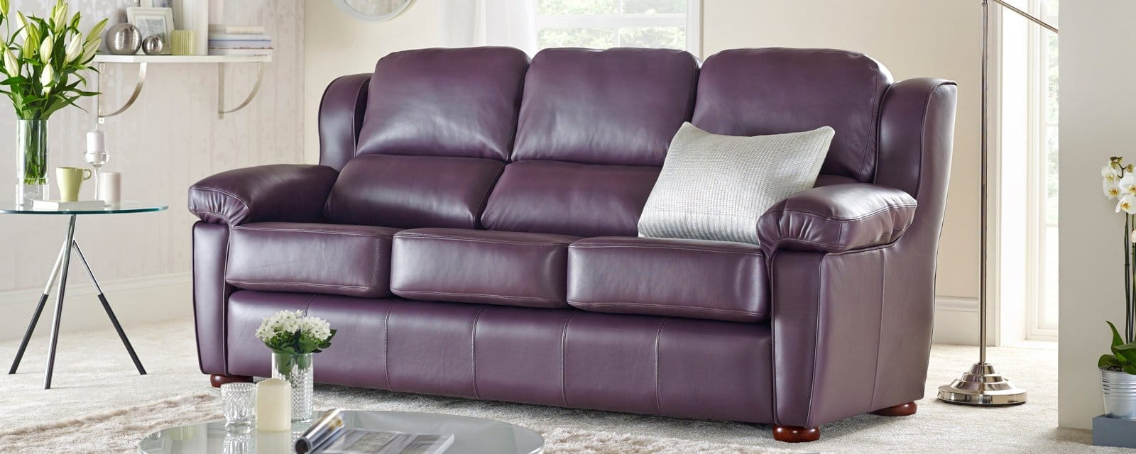 romsey 2 seater sofa from sofas by saxon uk. Black Bedroom Furniture Sets. Home Design Ideas