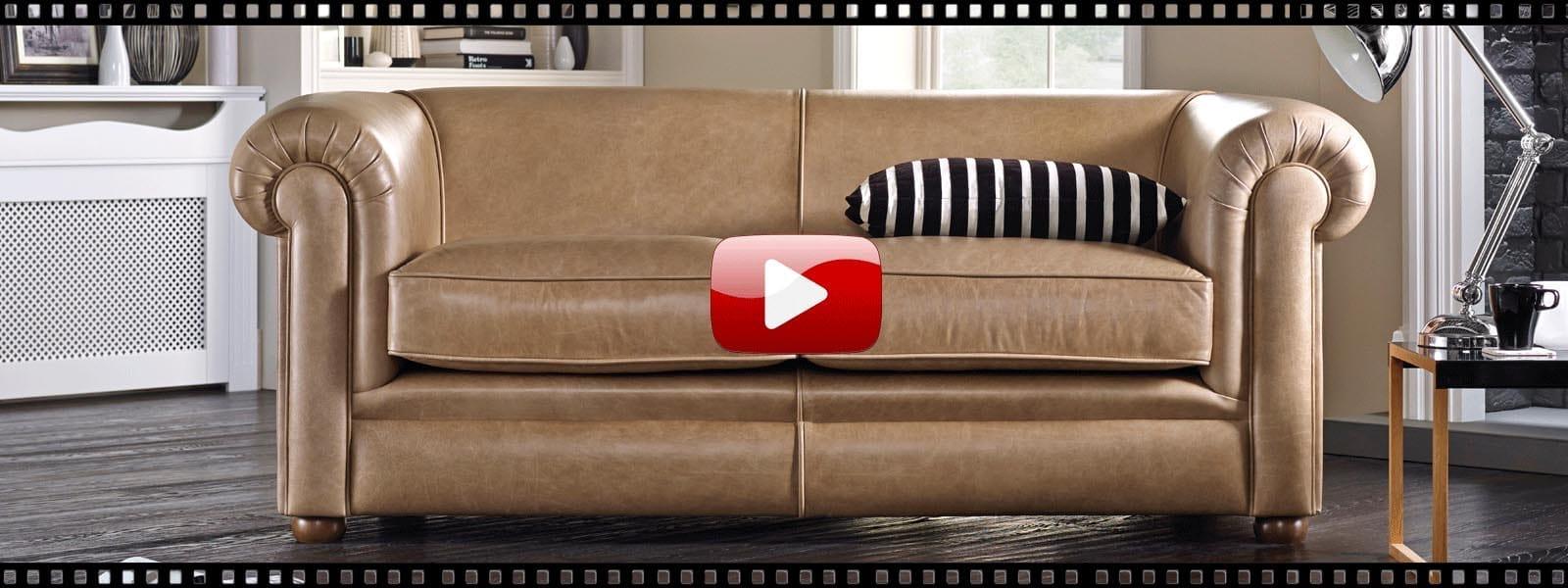 hampton 3 seater sofa from sofas by saxon uk hampton chester