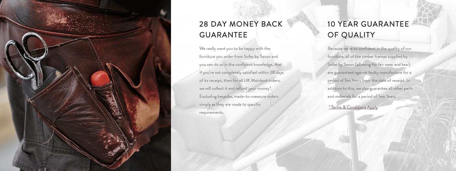 28 Day Money Back Guarantee