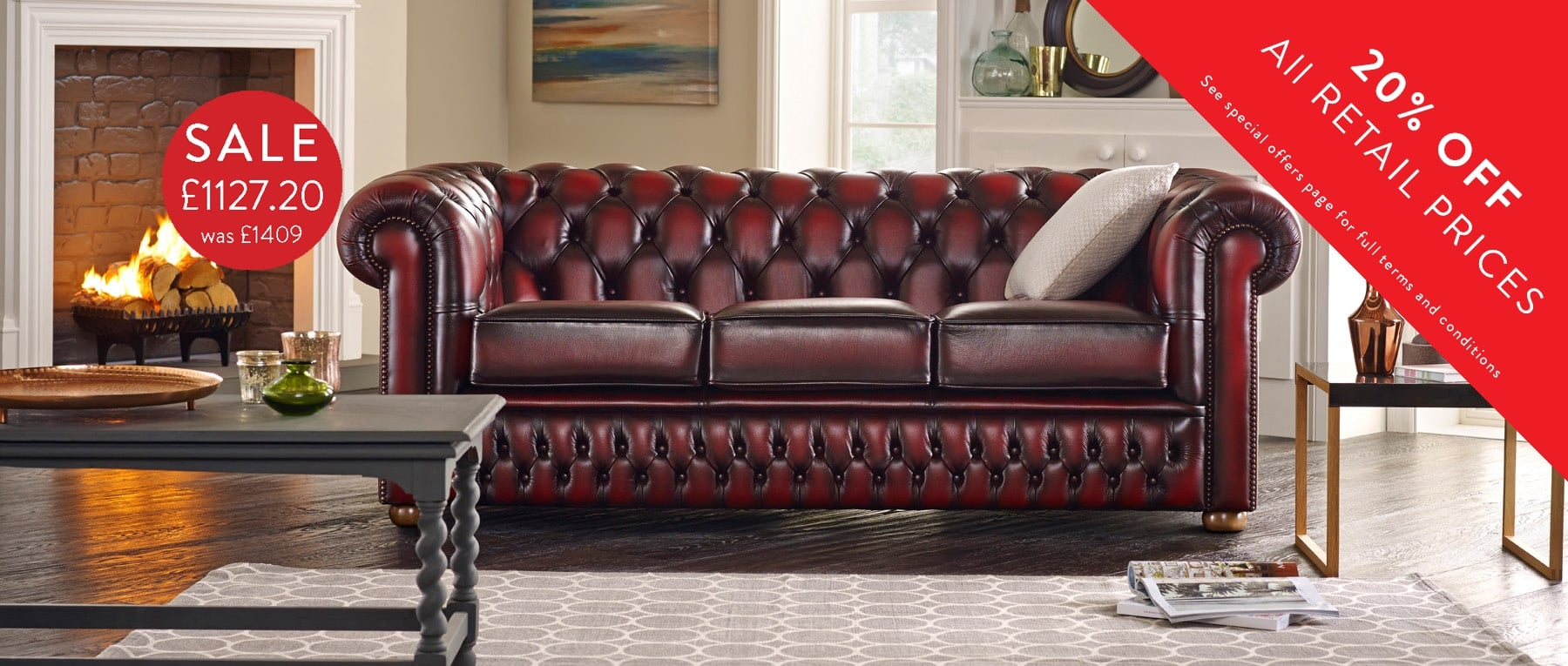 The Ultimate British Chesterfield