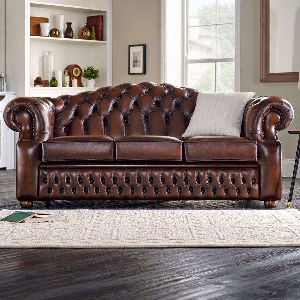 Oxford 3 Seater Sofa From Sofas By Saxon Uk