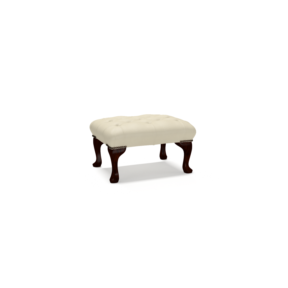 Queen Anne Footstool; Queen Anne Footstool