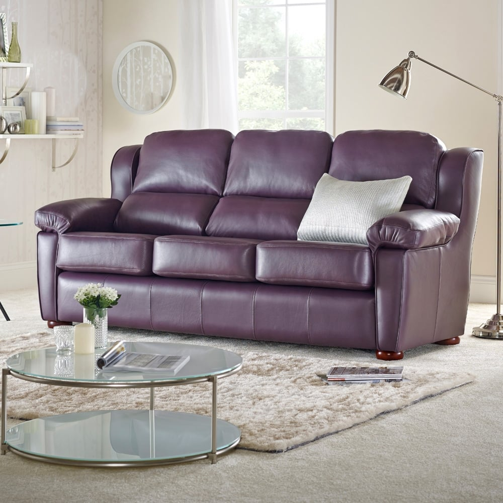 romsey 3 seater sofa from sofas by saxon uk. Black Bedroom Furniture Sets. Home Design Ideas