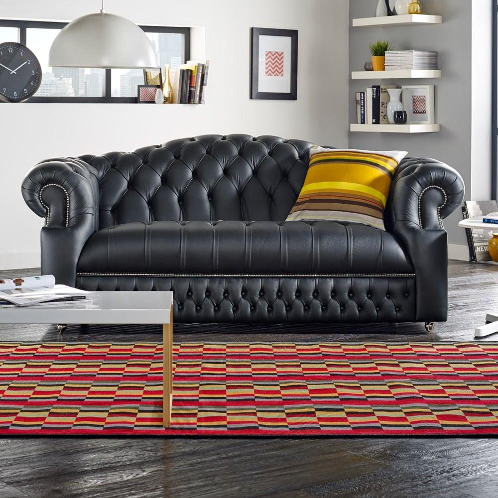 Chesterfield Sofa Saxon: Sandringham 3 Seater Sofa