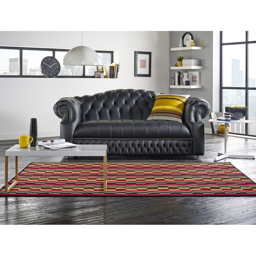 Chesterfield Sofa Saxon: Sandringham 4 Seater Sofa