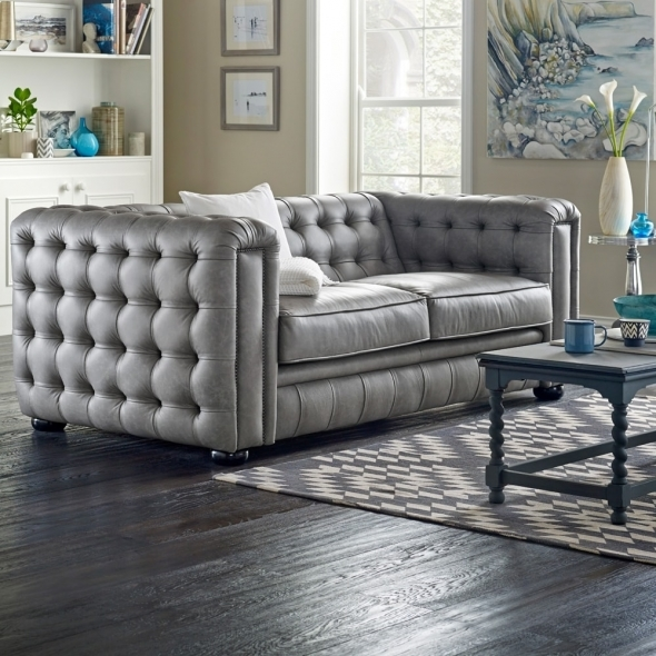 Chesterfield Sofa Saxon: Westminster 3 Seater Sofa