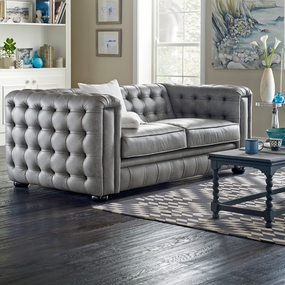 Chesterfield Sofa Saxon: Westminster 4 Seater Sofa