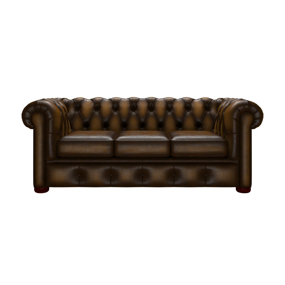 Good ... Winchester 3 Seater Antique Gold ...