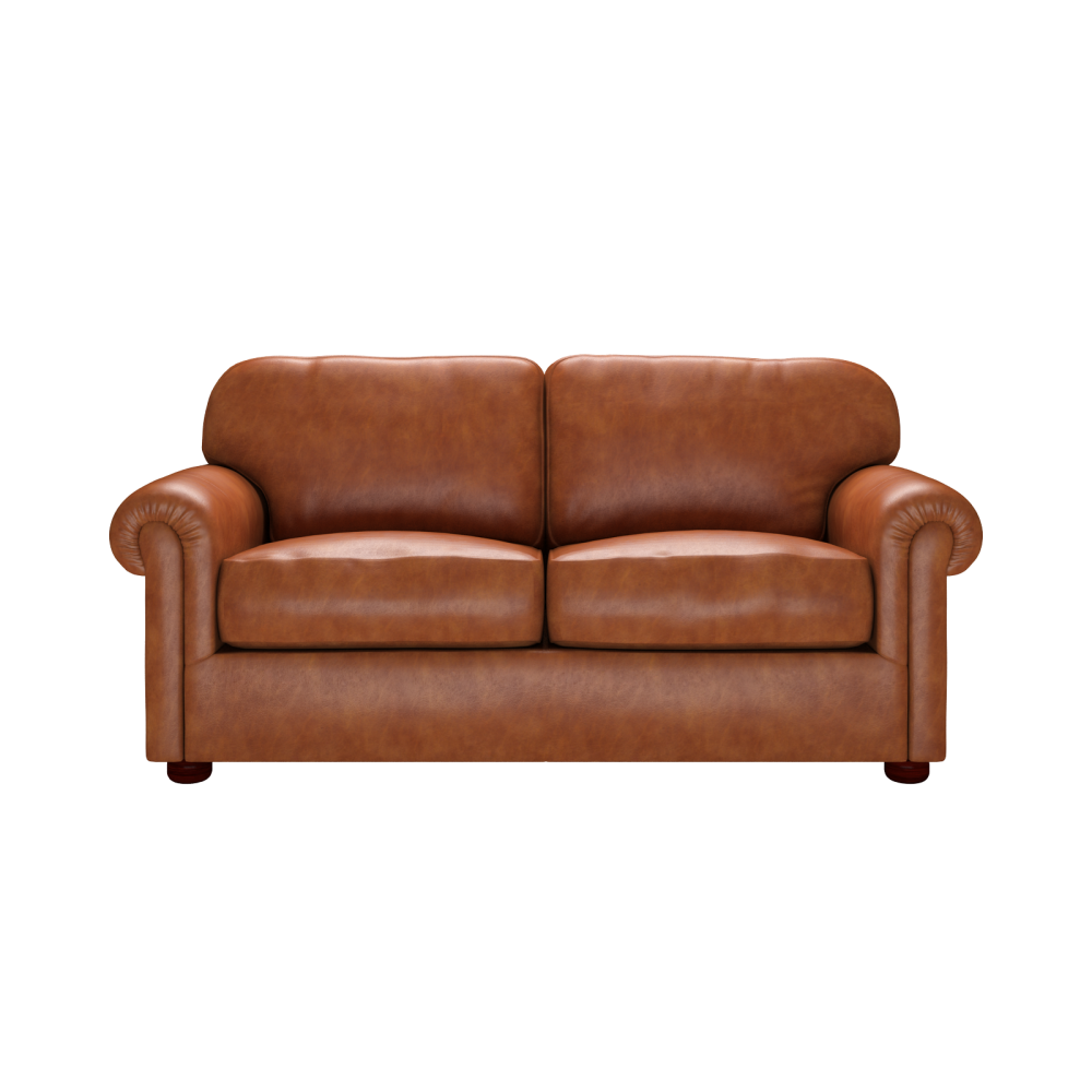York 3 seater sofa in old english bruciato from sofas by saxon uk - Sofa york ...